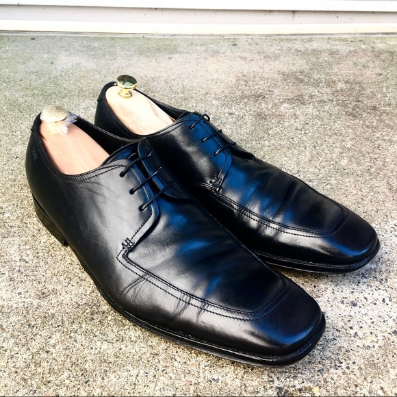 877a7110db0 Hugo Boss Other - Hugo Boss Derby Vero Cuoio Itailian Leather 12